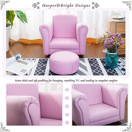 Amazon.com: Harper & Bright Designs Kids sofa Armrest Chair Children ...