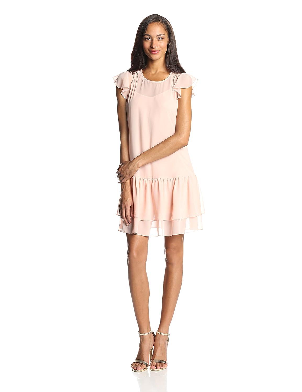 1920s Day Dresses, Tea Dresses, Mature Dresses with Sleeves BCBGeneration Womens Boho Dress $48.83 AT vintagedancer.com