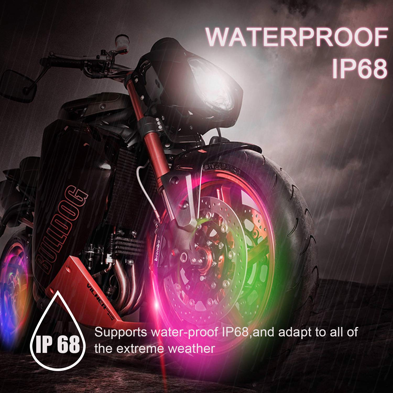 Accent & Off Road Lighting 8Pcs Motorcycle LED Lights,HanLanKa ...