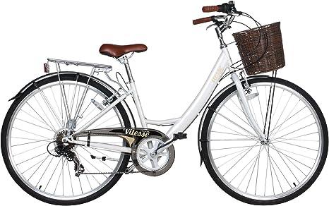 Viking Vitesse 6 velocidades City Bike Bicicleta bicicleta – Bicicleta para mujer, tamaño 48 cm, tamaño de cuadro 48.00 centimeters, tamaño de rueda 28.00 inches: Amazon.es: Deportes y aire libre