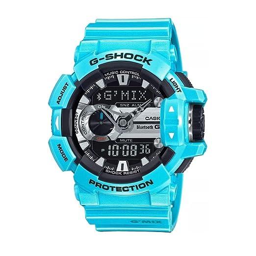 Casio G Shock Digital Deportivo para hombre Japón de cuarzo reloj (modelo de Asia) GBA-400 - 2 C: G-Shock: Amazon.es: Relojes