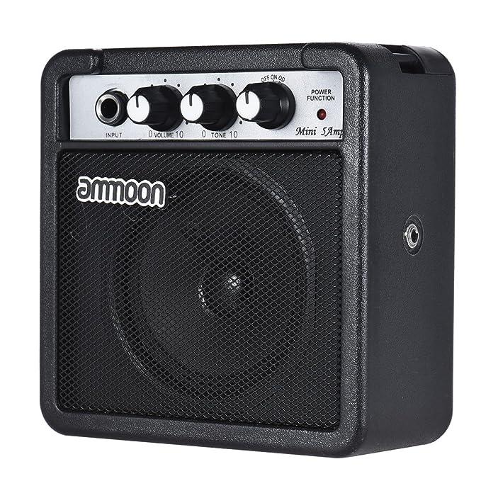 Speakers Consumer Electronics Mini 5 Watt 9v Battery Powered Amp Amplifier Speaker For Acoustic/ Electric Guitar Ukulele High-sensitivity