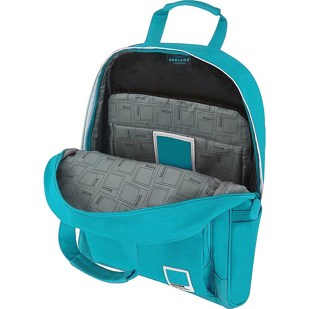 Amazon.com | Pantone X Redland Medium Backpack (Turquoise Capri Breeze) | Backpacks