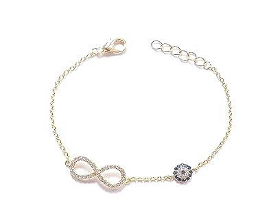 Remi Bijou - Armband Armkette Infinity Sonsuzluk Unendlichkeit ewige Liebe  Böser Blick blaues Auge Nazar Boncuk 32cac9d448