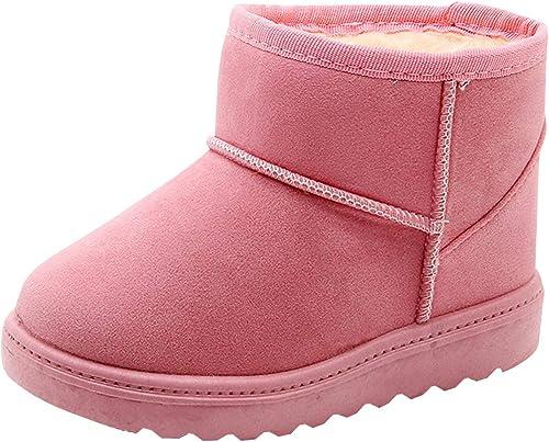 Epais Hiver Chaussure Souple Bébé Fourrure Fille Chaud Antidérapant Cherry Bebe Hiver Enfants Neige Enfant Fille Bottes de Taille Fille Bottes Happy rdBCxeWo