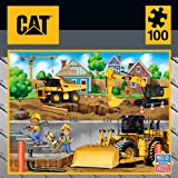 Masterpieces Caterpillar Jigsaw Puzzle in My Neighborhood, 100Piece