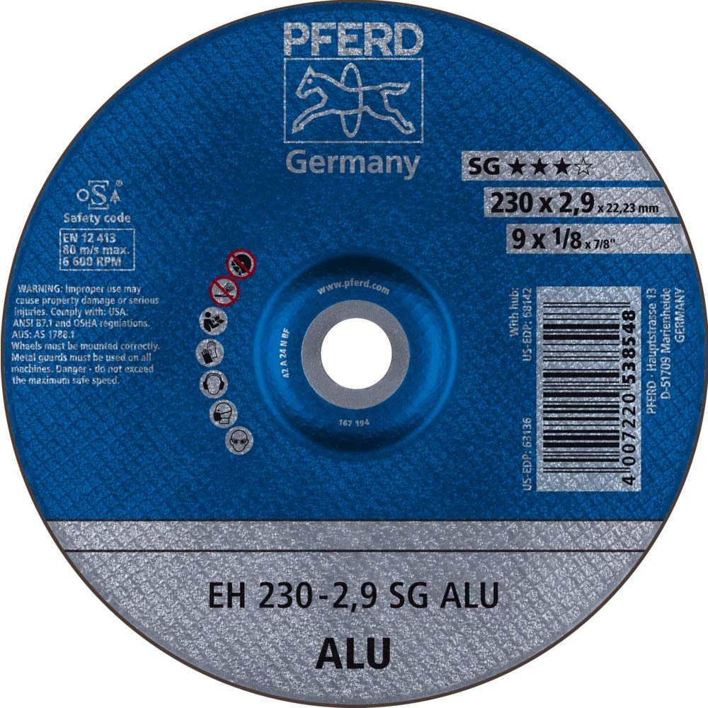 /2,9/A24/N sg-alu /Disque Coupe EH 230/ Pferd/