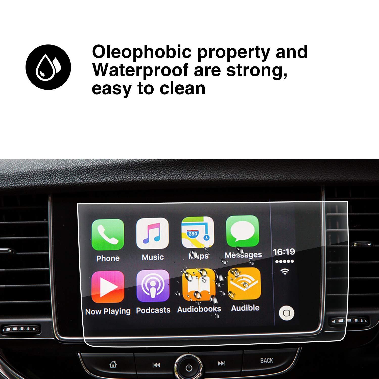 YEE PIN Displayschutzfolie Autoteile Kompatibel mit Opel Mokka X//Vauxhall Mokka X 8 Zoll GPS Navigation Displayschutz Kratzfeste HD Geh/ärtetes Glas Bildschirmschutz Auto Zubeh/ör