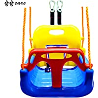 Bbcare 3-in-1 Child to Teenager Secure Swing with Snap Hooks & Hanger Belts(Blue)