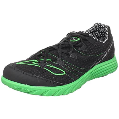 24851fc187d Brooks Men s M Green Silence Black Emerald Green Trainer 1100961D316 6.5 UK