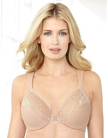 1ebcabbac66 Glamorise Women s Full Figure Underwire Front Close Bra  1245