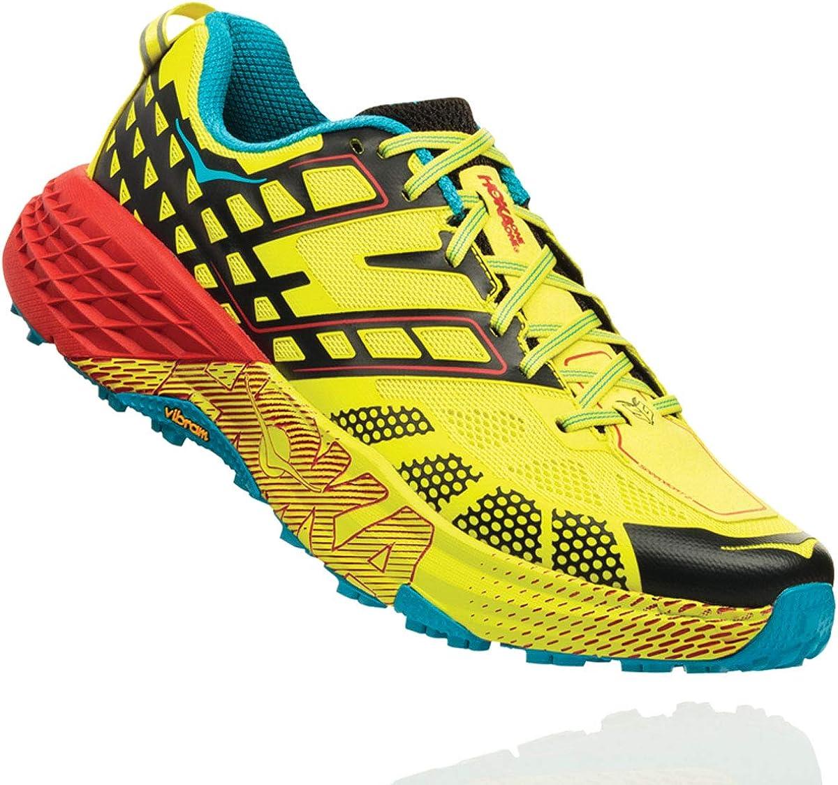 hoka Zapatillas Speedgoat 2 Amarillo/Negro Talla 47 1/3: Amazon.es: Zapatos y complementos