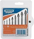 Draper Expert 48221 - Juego de brocas para azulejos y vidrio (8 piezas)