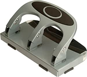 40 Sheets Silver Reduced Effort 3-Hole Punch
