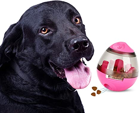 Juguete para perros Stajoy Treat, bola dispensadora de alimentos ...
