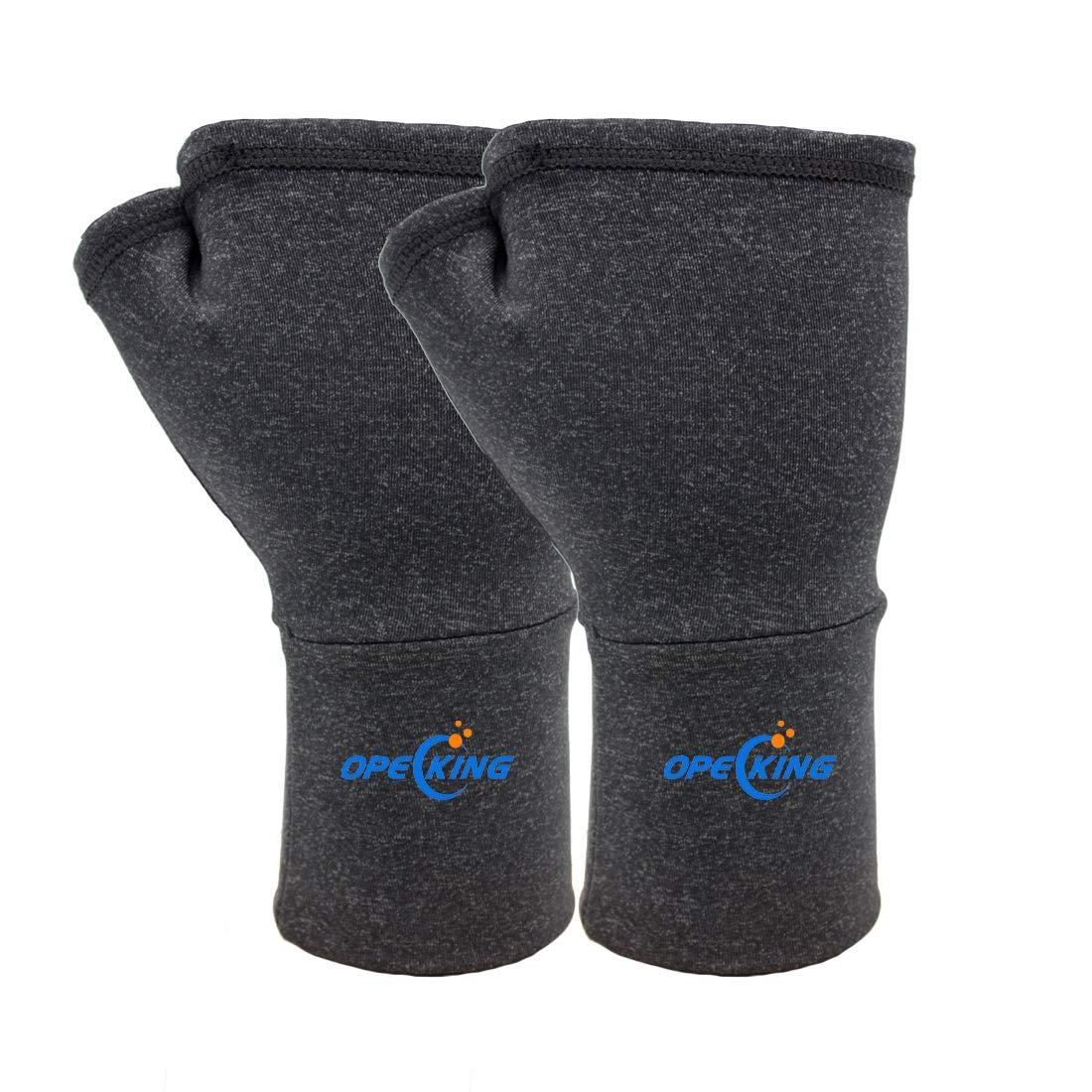 Wrist Brace for Carpal Tunnel,Support Brace for Arthritis, Osteoarthritis, Swelling, Inflammation, Weightlifting Men & Women (1 Pair) - Medium