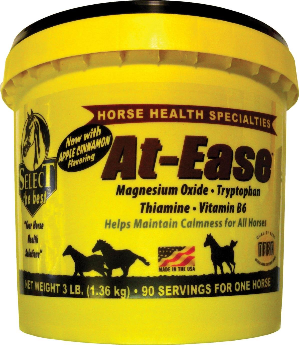 at-Ease Vitamin & Mineral Equine Supplement - 3 POUND/90 Day
