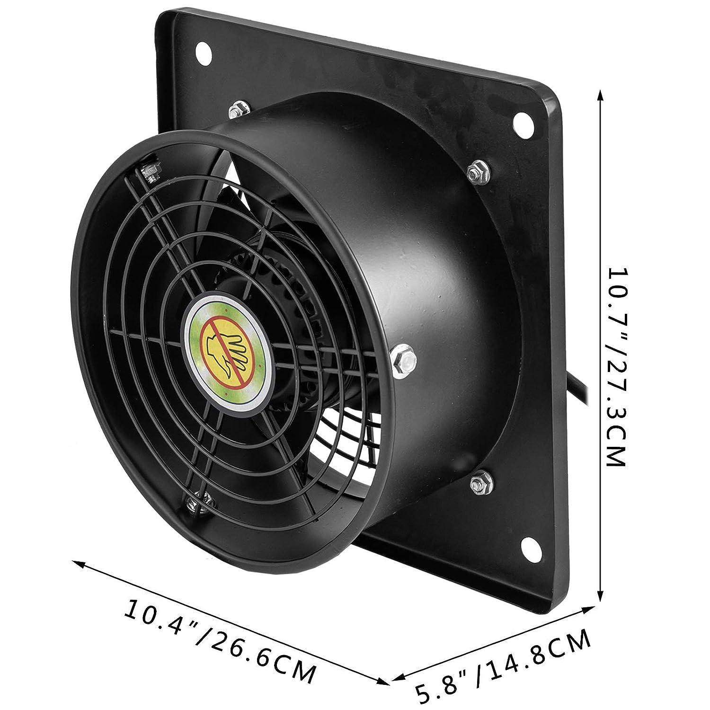 Mophorn Ventilador de Rotor Externo AXIAL de 8 Pulgadas Motor de Cobre Puro de 65 W 2650 rpm