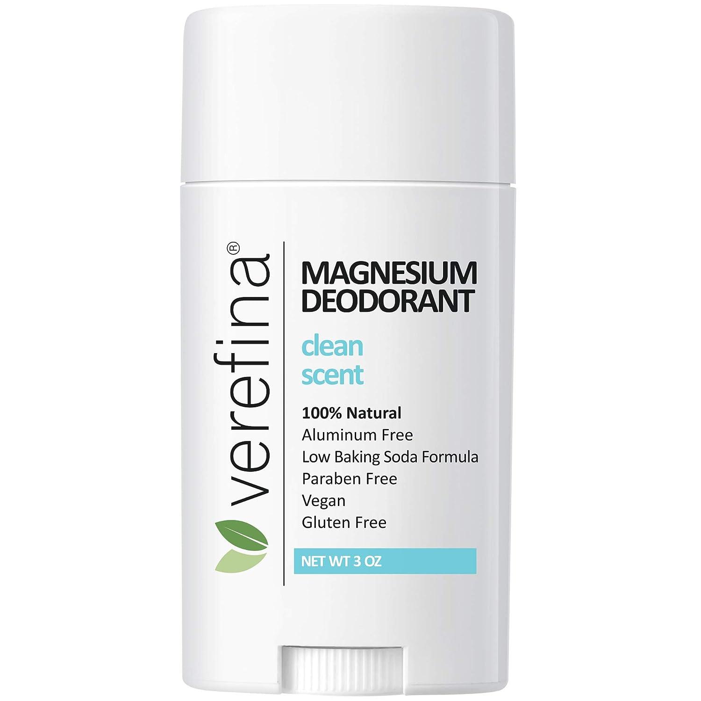 Verefina Aluminum Free Deodorant For Men & Women | All Natural | Hypoallergenic | Paraben Free | Non Toxic | Cruelty Free | Vegan | Natural Deodorant For Sensitive Skin | 3 Oz Stick