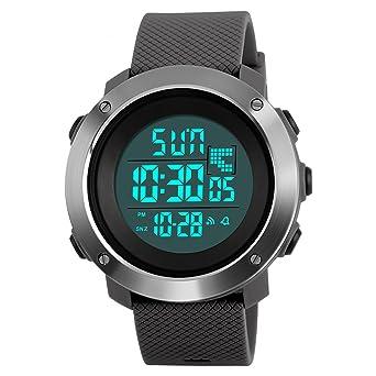 2019 Neuer Stil Militär Uhren Männer Mode Sport Uhr Led Digital 50 M Wasserdicht Schwimmen Kleid Sport Outdoor Armbanduhr Alarm Digital Sport & Unterhaltung