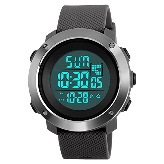 para Hombre Reloj Digital Deporte AL Aire Libre para Hombres Militar Casual ejército Reloj de Pulsera: Amazon.es: Relojes