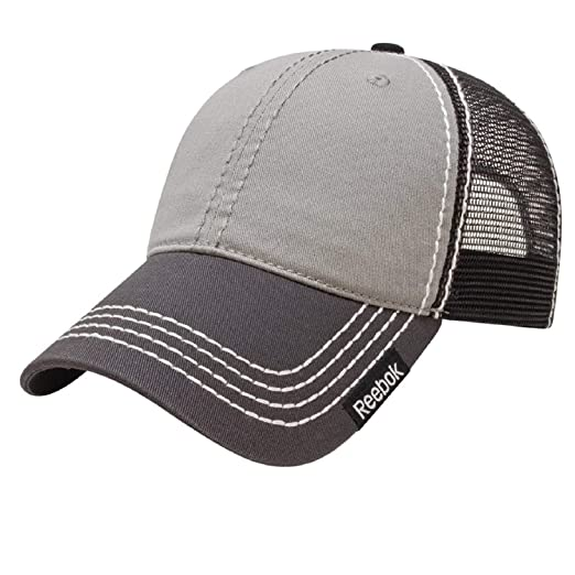 Amazon.com  Reebok Truckers Stitch Cap  Sports   Outdoors e0720e68781