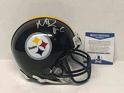 Mason Rudolph Signed Mini Helmet - Beckett BAS E38371 - Beckett  Authentication - Autographed NFL Mini 258694c9b