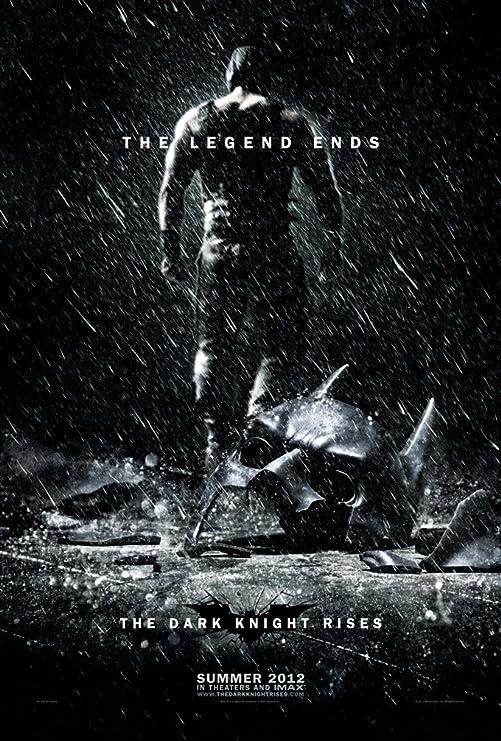 Amazon.com: THE DARK KNIGHT RISES MOVIE POSTER 2 Sided ORIGINAL ADVANCE  BANE 27x40 BATMAN: Prints: Posters & Prints