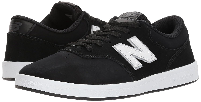 Mens 424v1 Lifestyle Skate Numeric Sneaker, Black/White, 8 2E US New Balance