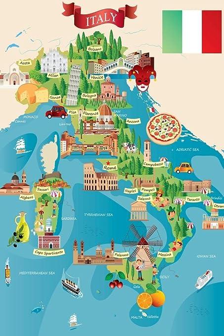 Amazon Com Italian Tourist And Travel Destinations