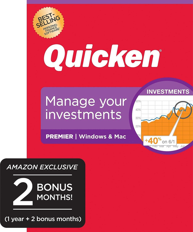 Quicken Premier Personal Finance - Maximize Your Investments [Amazon Exclusive] [PC/Mac Disc]