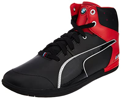 1708033479df Puma Men s BMW M Pilot Mid Slick Black