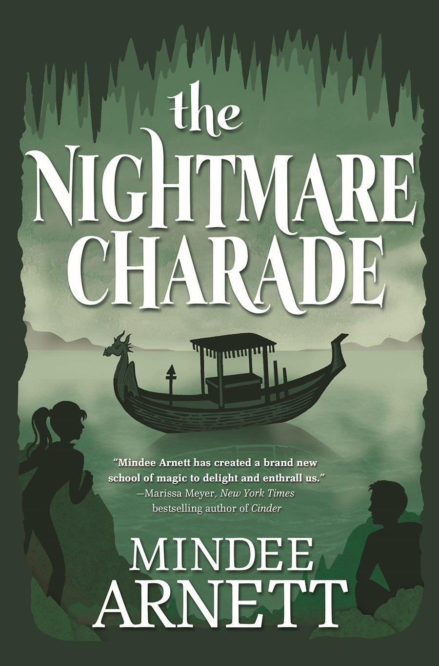 Read Online The Nightmare Charade (Arkwell Academy) ebook