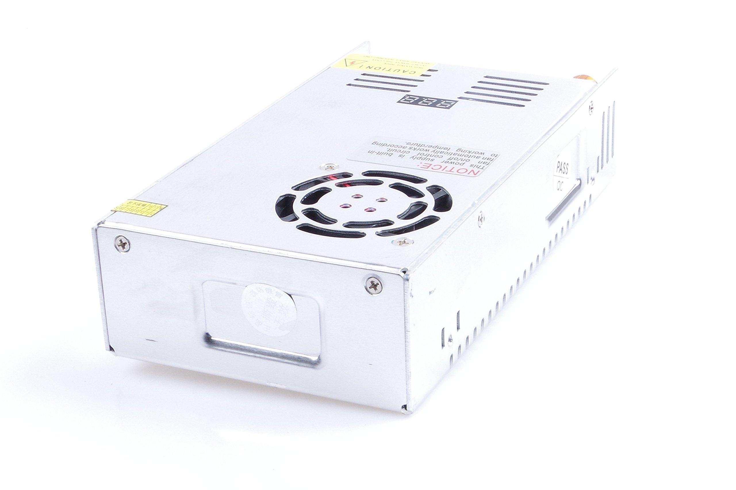 Adjustable DC Power Voltage Converter AC 110V-220V to DC 0-80V Module 80V 6A Switching Power Supply Digital Display 480W Voltage Regulator Transformer Built in Cooling Fan (DC 0-80V 6A) by TOFKE (Image #6)