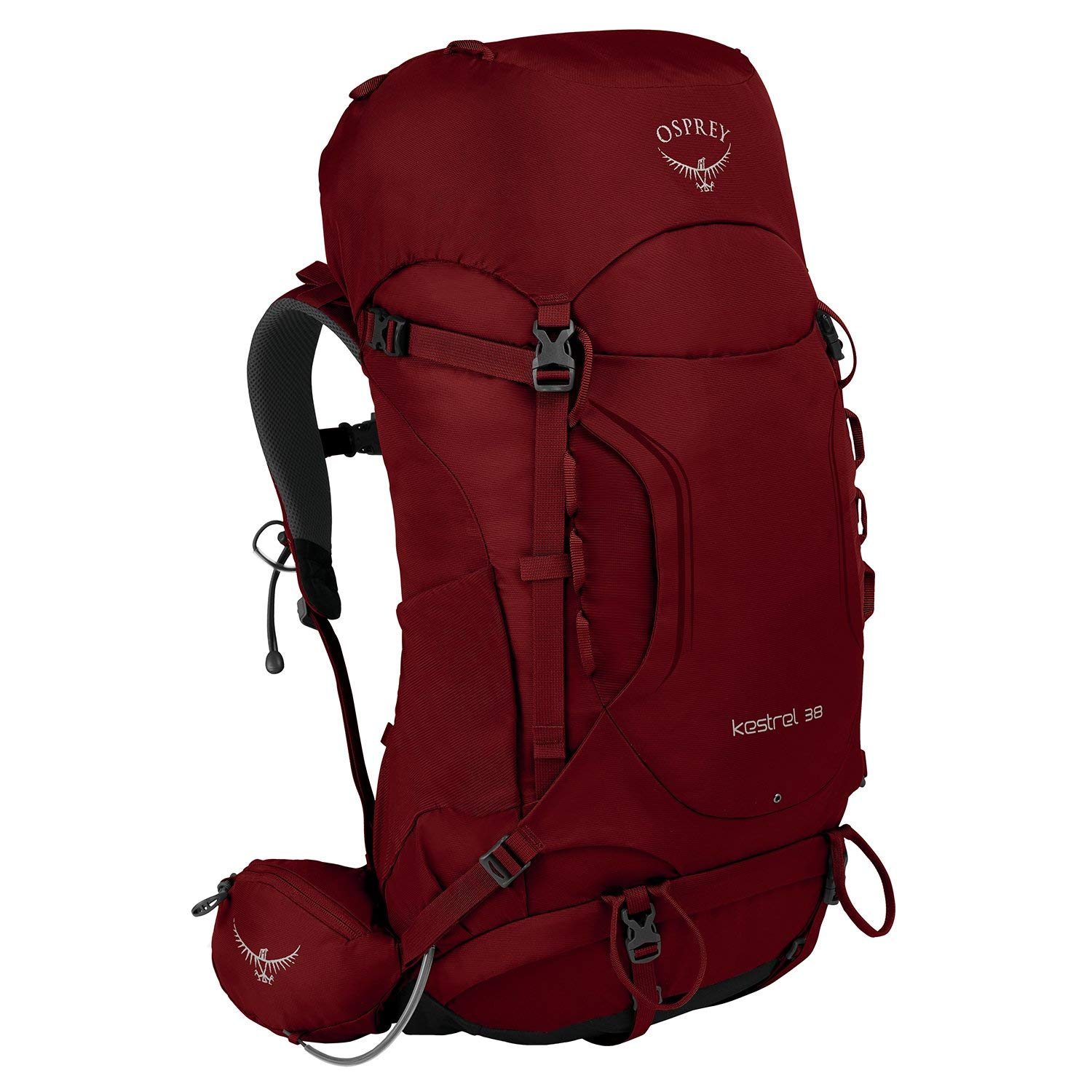 Osprey Kestrel 38 Hiking Backpack Medium/Large Rogue Red
