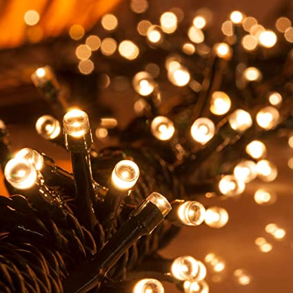 lychee solar christmas string solar fairy string lights for outdoor room garden home christmas party decoration