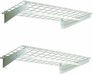 HyLoft 00777 36-by-18-Inch Wall Shelf with Hanging Rod, 2