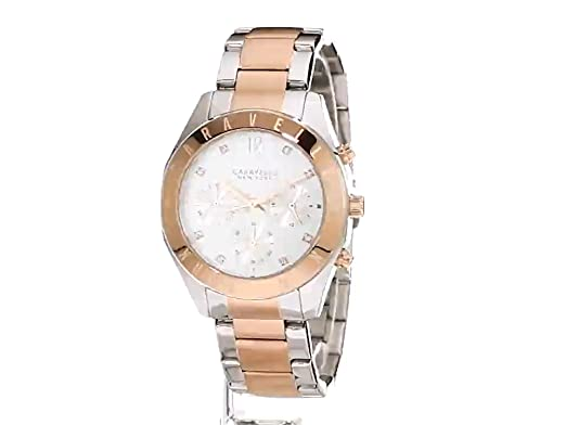 Amazon.com: Caravelle New York Womens Quartz Stainless Steel Dress Watch (Model: 45L156): Watches