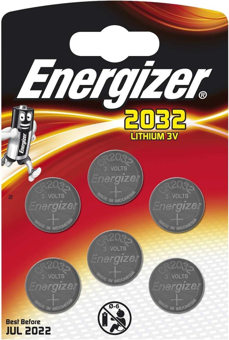 Energizer Cr2032 Knopfzellen Lithium 3 V Akku Taille Elektronik