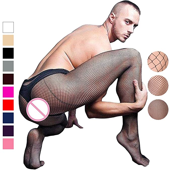 Chris&Je Mens Fishnet Pantyhose with Control Top: Amazon.ca: Clothing &  Accessories
