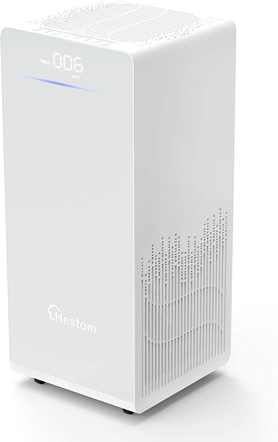 Hestom Air Purifier for Home Large Room, 1500 Sq Ft Smart H13 True HEPA Air Cleaner for Pets and smoke, Quiet Air Filter Unit for Office Bedroom Kitchen, Auto Mode, Negative Ion, White