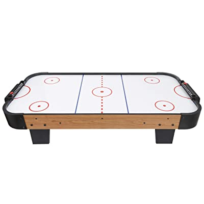 Powerful Electric Fan Air Hockey Table Accessories Sets with 100V Motor Living Room 2 Strikers 2 Pucks for Game Room