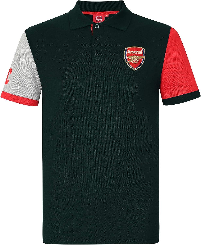 Arsenal FC - Polo Oficial para Hombre - con el Escudo del Club ...