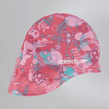 Speedo Sea Squad Polyester Cap Junior Swimming Hat 0322459b486f