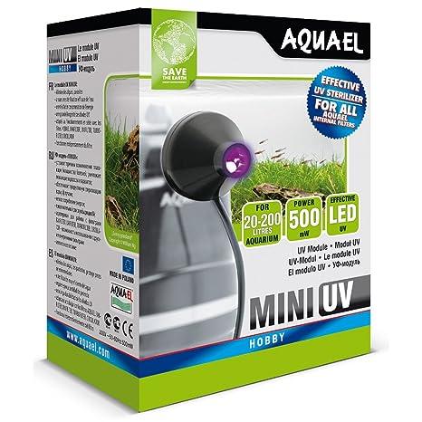 Aquael Mini Filtro UV Esterilizador (se ajusta a la mayoría Filtros)