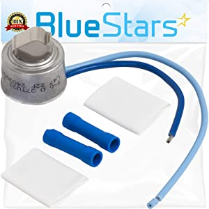 Ultra Durable 5303918202 Defrost Thermostat Replacement Part by Blue Stars – Exact Fit For Frigidaire & Kenmore Refrigerators - Replaces 241619705 AP2150133