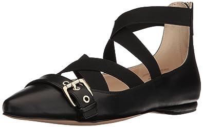 092c218e8a15 Nine West Women s Smoak Leather Ballet Flat