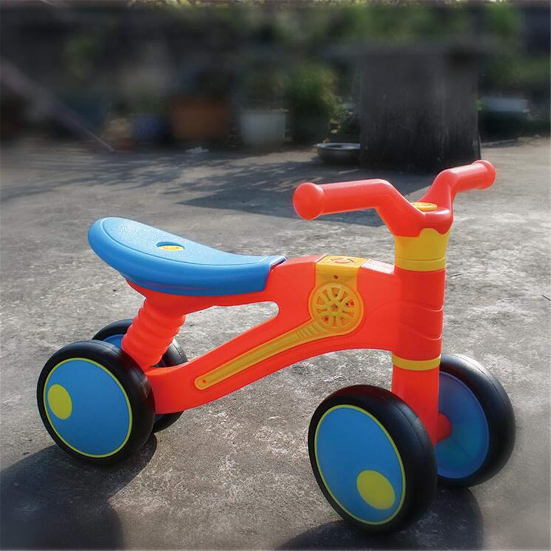 BABIFIS Equilibrio para niños Scooter de Auto Educación temprana de múltiples Funciones para bebés y niños pequeños para niños de 1-3 años Educativo de Juguete