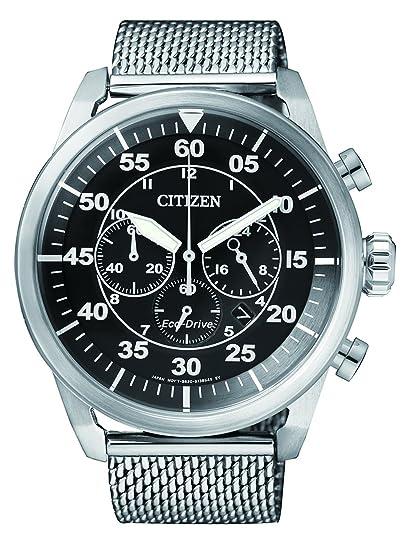 Citizen de Hombre Reloj de Pulsera Cronógrafo Cuarzo Acero Inoxidable CA4210 - 59E: Citizen: Amazon.es: Relojes