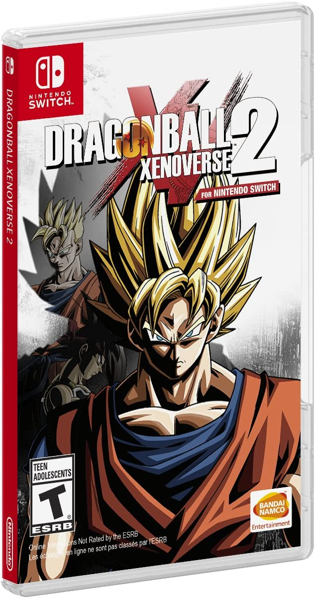 Amazon com: Dragon Ball Xenoverse 2 - Nintendo Switch: Bandai Namco